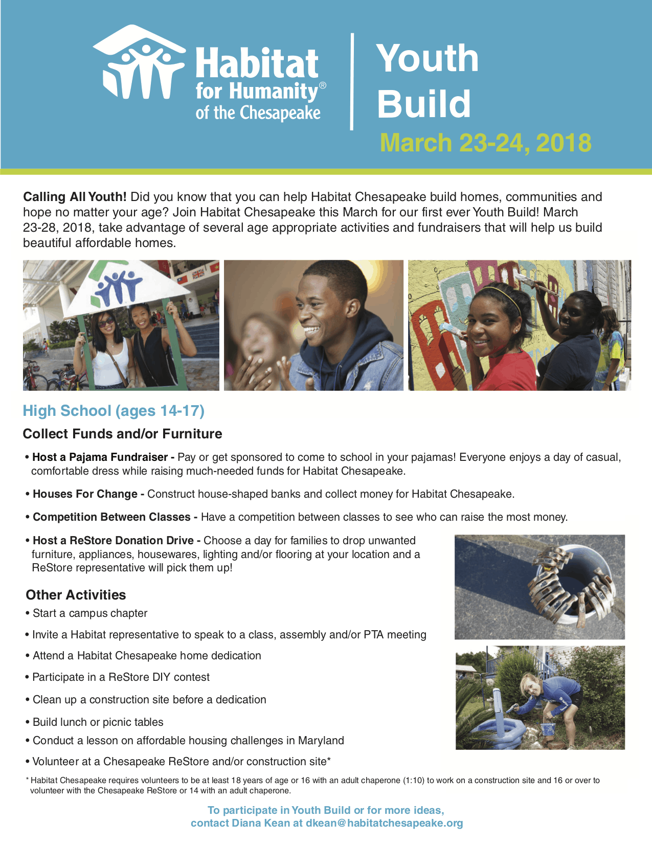 Youth Build High School Fact Sheet